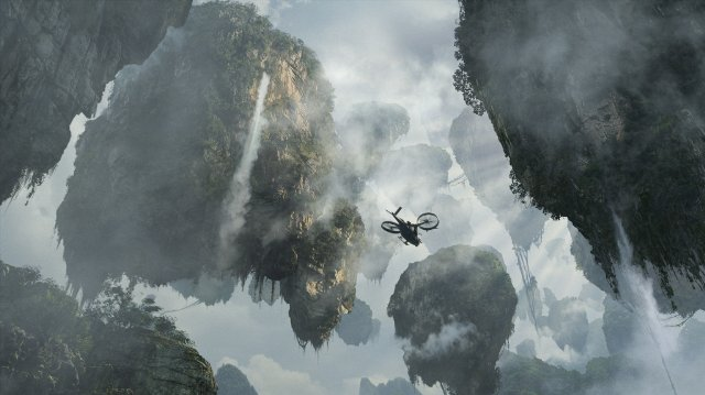 Avatar's floating mountains
